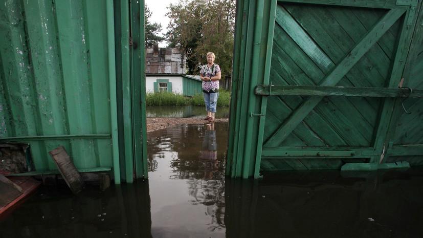 Штормовое предупреждение объявлено в Приамурье