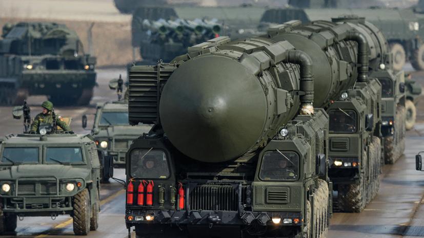 РВСН успешно провели учебный пуск баллистической ракеты «Тополь»