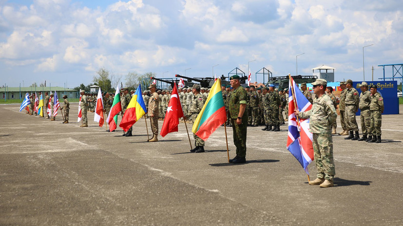 Привычные манёвры: в Грузии начались совместные с НАТО учения Agile Spirit 2019