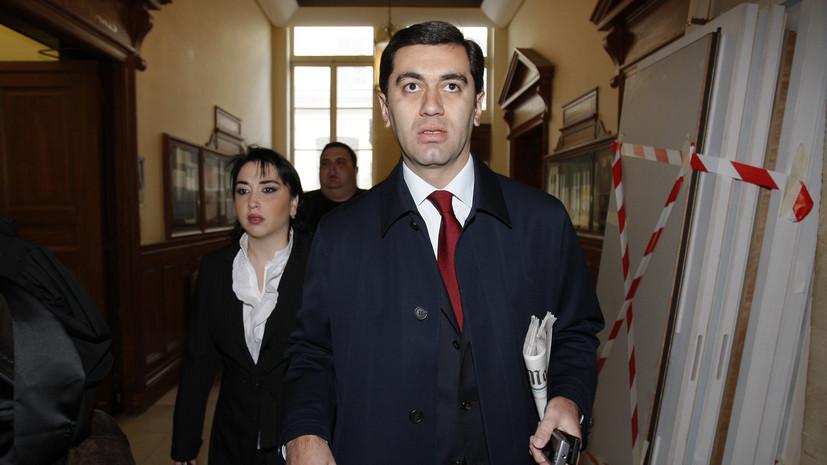 В Грузии арестовали экс-министра обороны по делу о протестах в Тбилиси