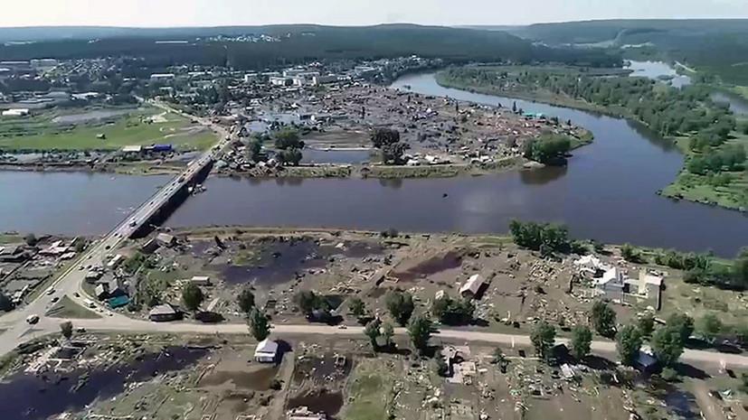 «Повышение уровня рек до критических отметок»: сильные дожди в Иркутской области привели к новым подтоплениям