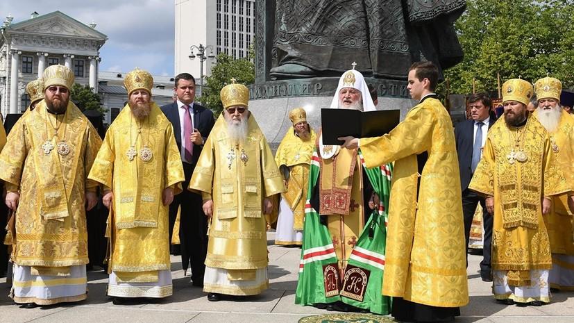 Патриарх Кирилл предостерёг верующих от чуждых «идеологических конструкций»