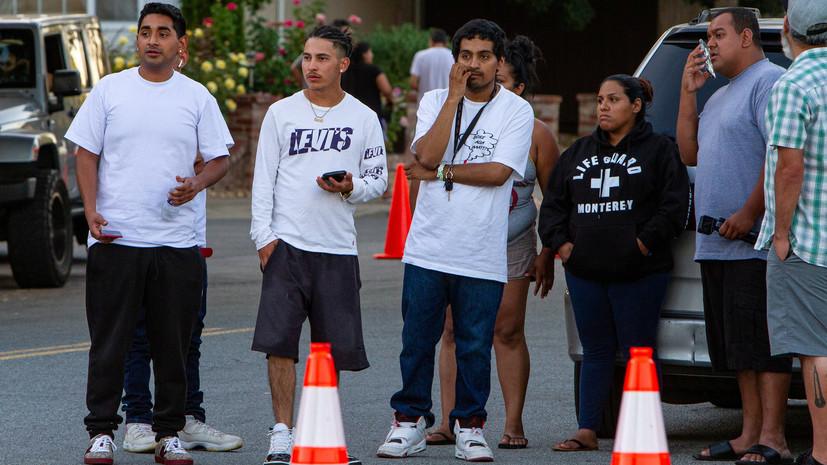 При стрельбе на фестивале еды в США погибли четыре человека