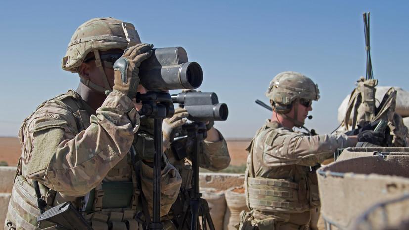 В Афганистане убиты двое военнослужащих США