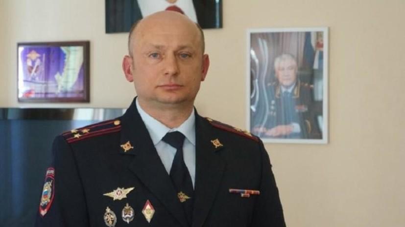 Задержан начальник угрозыска УМВД Приморья