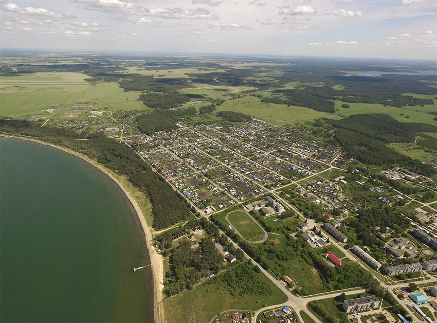 •Посёлок Метлино — единственный оставшийся на территории Восточно-Уральского радиоактивного следа