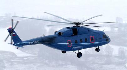 Ми-38 в полёте