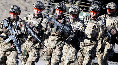 В США призвали Германию отправить в Сирию наземные войска