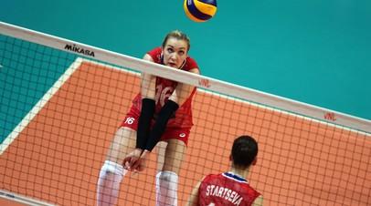 Женская сборная России по волейболу вышла в плей-офф Универсиады-2019