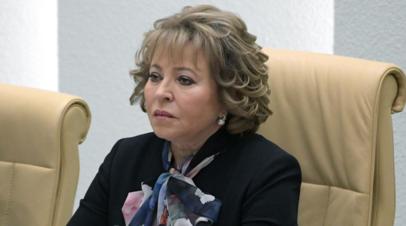 Матвиенко: до 80% минеральной воды в магазинах России контрафактны
