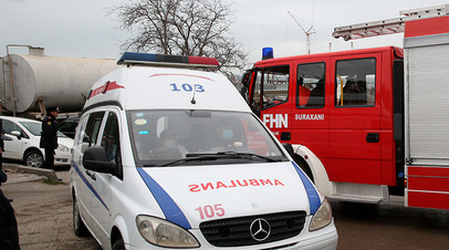 В Азербайджане в ДТП с участием микроавтобуса погибли восемь человек
