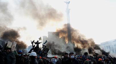 Антиправительственные протесты в Киеве, февраль 2014 года