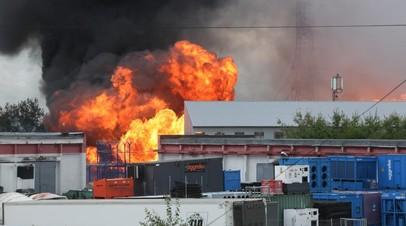 При пожаре на ТЭЦ в Мытищах пострадали 11 человек