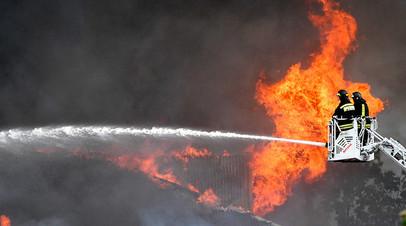 При пожаре на ТЭЦ в Мытищах один человек погиб, 13 пострадали