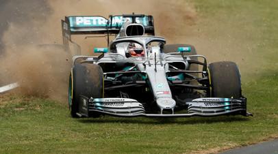 Хэмилтон выиграл Гран-при Великобритании, Квят — девятый