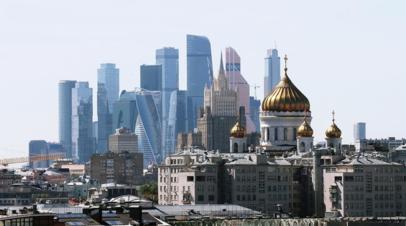 МЧС предупредило о грозе и сильном ветре в Москве