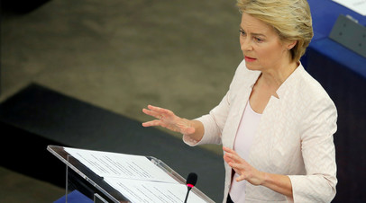 Глава ЕК возложила на Россию ответственность за ситуацию с санкциями
