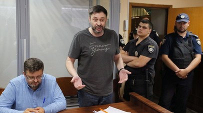 Защита попросила отпустить Вышинского под личное поручительство