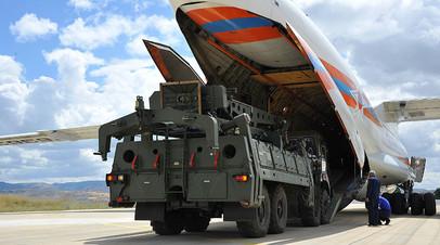 Первая партия С-400, прибывшая из России в Турцию