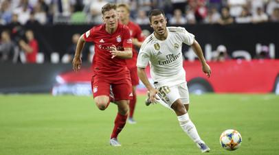 «Бавария» обыграла «Реал» в матче Международного кубка чемпионов