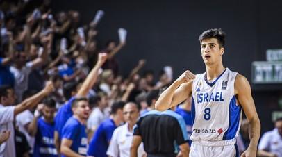 Сборная Израиля второй раз подряд выиграла молодёжный чемпионат Европы по баскетболу