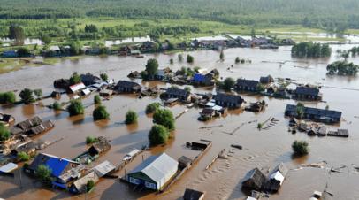 Скворцова оценила работу медиков в зоне паводка в Иркутской области