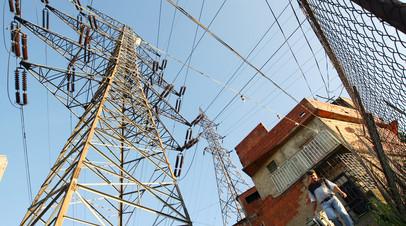 Объекты энергосистемы Венесуэлы