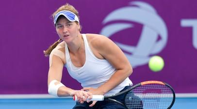 Самсонова вышла в четвертьфинал турнира WTA в Палермо
