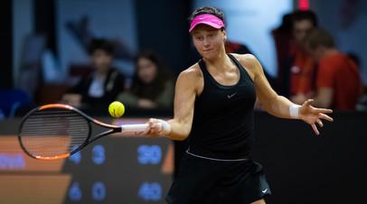 Самсонова не сумела выйти в финал турнира WTA в Палермо