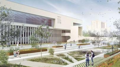 Летний театр откроется на территории библиотеки ИНИОН РАН в Москве