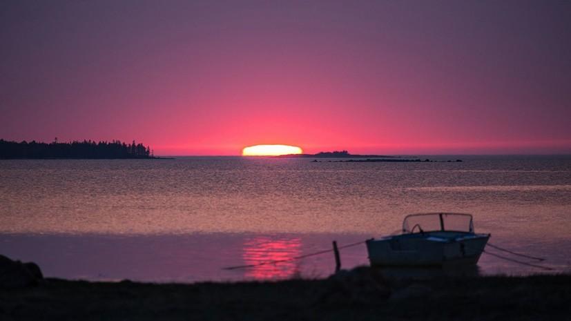 10 туристов изПетербурга пропали вБелом море