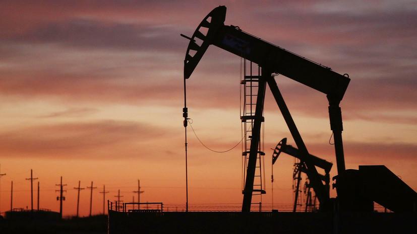 Цены на нефть WTI и Brent снизились более чем на 6%
