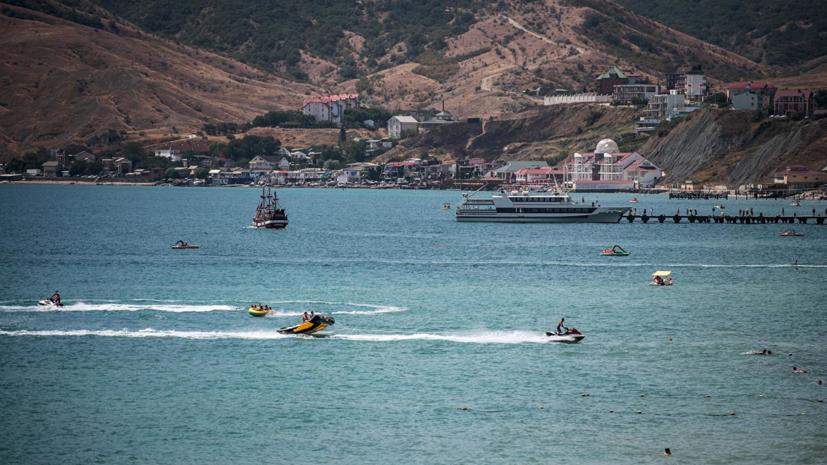 Разработан морской туристический маршрут между Крымом и Краснодарским краем