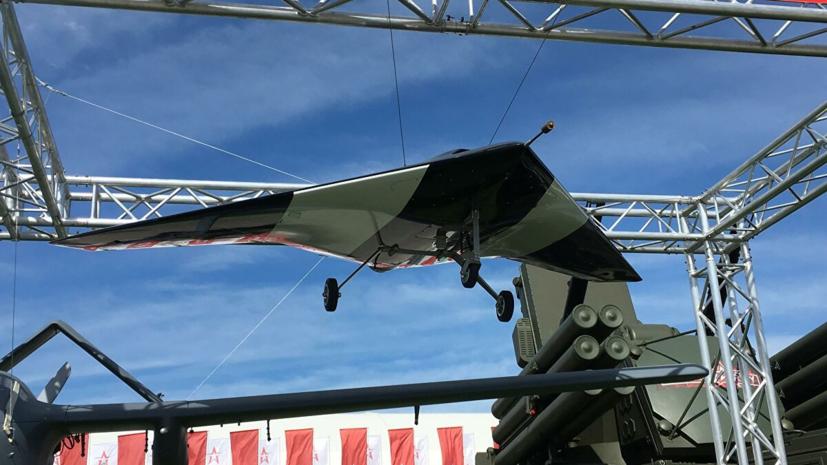 Российский беспилотник «Охотник» совершил первый полёт