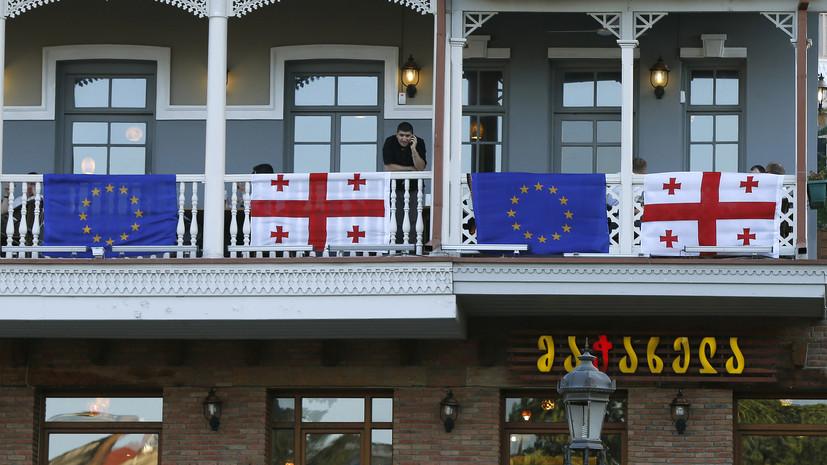 «Объяснение неудач»: в Грузии обвинили «российскую пропаганду» в попытке помешать евроинтеграции