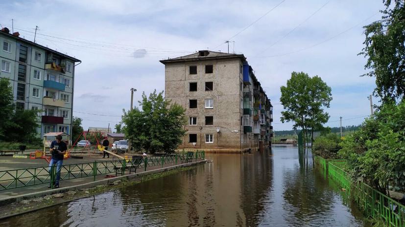 Власти Иркутской области назвали число пострадавших от паводка