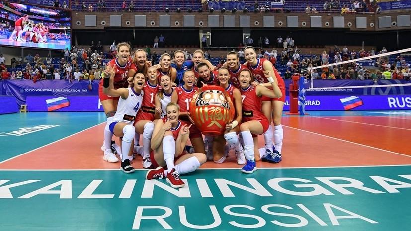 Железный характер: женская сборная России по волейболу обыграла Южную Корею и отобралась на Олимпиаду 2020 года
