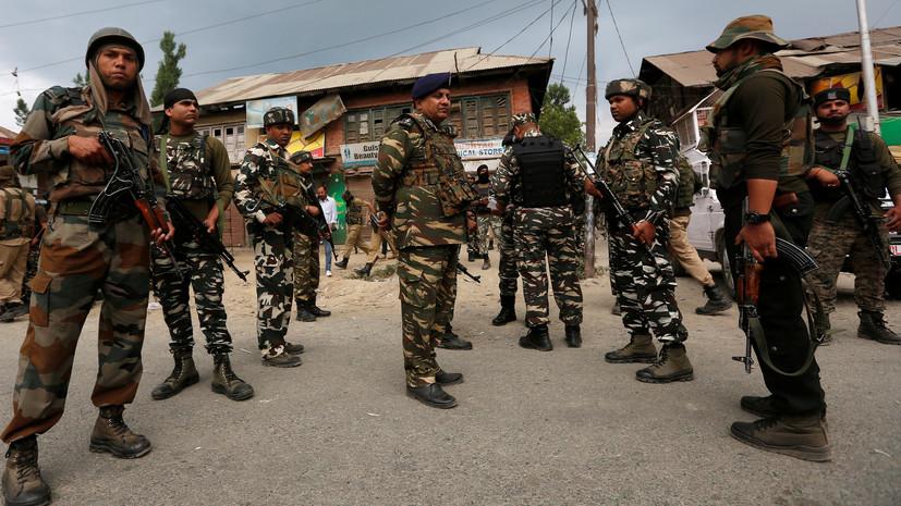 В Индии привели войска в состояние повышенной готовности