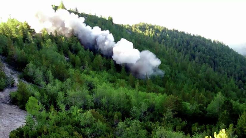 МЧС назвало основную причину пожаров в Сибири