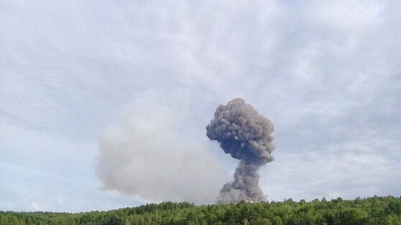 Власти Ачинска призвали жителей не ездить к месту взрывов