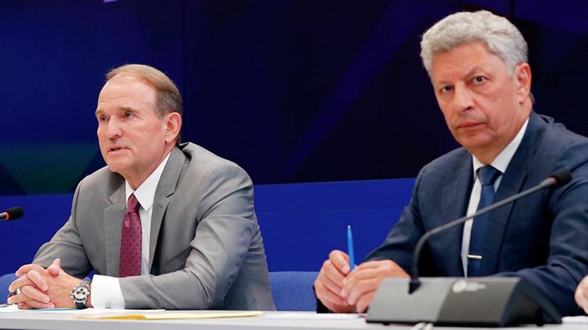 Суд назначил лингвистическую экспертизу выступлений Медведчука и Бойко