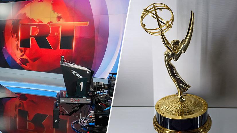 RT в финале Emmy в седьмой раз — с серией спецрепортажей о пожаре в Кемерове