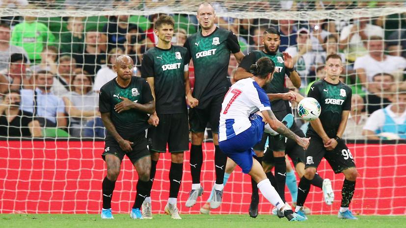 Обидный мяч в концовке, «услуга» Зе Луиша и неназначенный пенальти: «Краснодар» уступил «Порту» в дебютном матче в ЛЧ