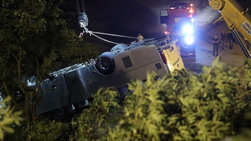 Трое погибли и 44 пострадали: что известно о ДТП с участием автобуса в Краснодарском крае