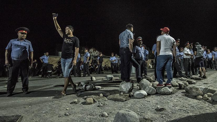 В ГКНБ рассказали о захваченном сторонниками Атамбаева оружии