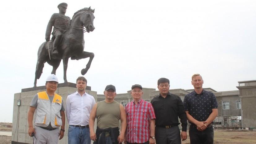В Монголии установили памятник маршалу Жукову