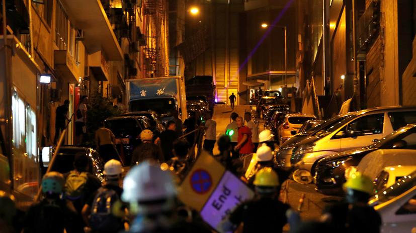 В КНР допустили связь Фонда демократии США с беспорядками в Гонконге