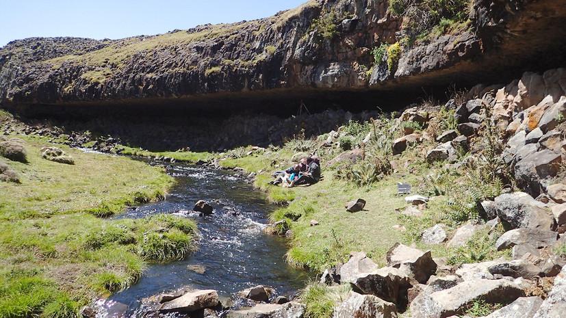 В Эфиопии обнаружено высокогорное поселение людей эпохи палеолита