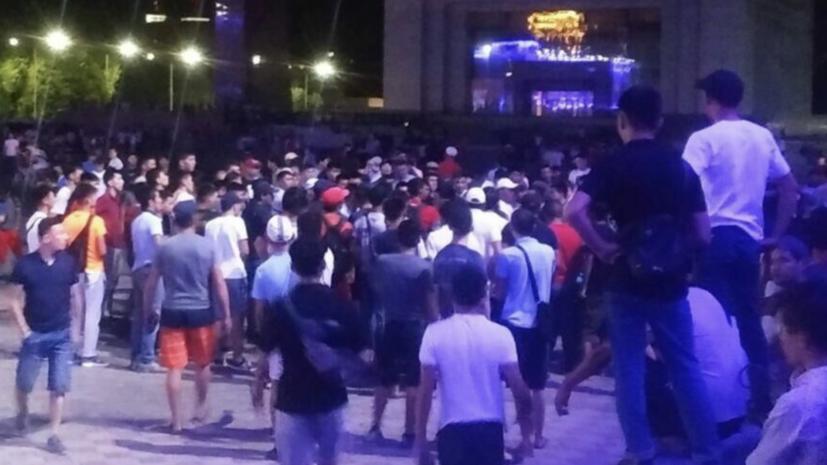 Посольство России рассказало об обстановке в Бишкеке