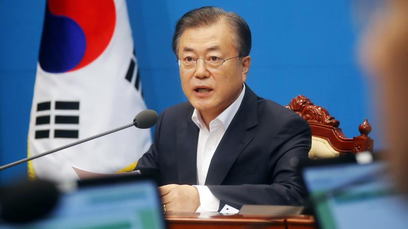 Президент Южной Кореи обсудил с главой Пентагона КНДР